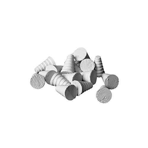 iQuatics 10 x 16 mm Cono/Zoa Frag Plugs-SPS/Lps/Zoa/Soft Coral, Taglia Unica