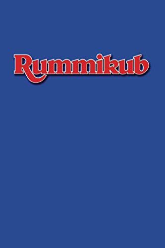 Rummikub: Score Book | Rummikub Lined Notebook (College-Ruled) | Perfect for Scorekeeping | Blue