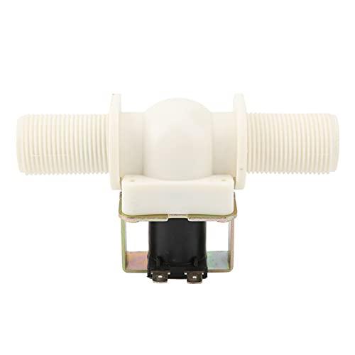Electroválvula eléctrica G3 / 4 de latón + nailon Válvula de entrada normalmente cerrada de 24 V CC, estructura de diafragma de acción directa
