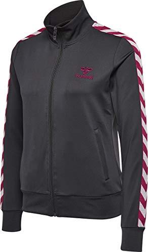Hummel Damen HMLNELLY Zip Jacke, Asphalt, XL