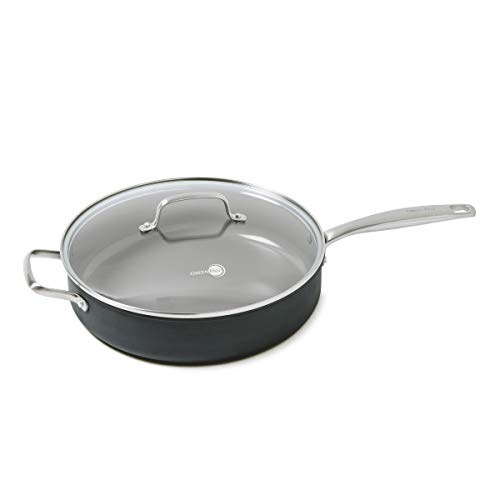 GreenPan 5QT Ceramic Non-Stick Covered Saute Pan