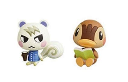 Choco Egg Animal Crossing Miniature Figure Part 2~Marshal Molly Set