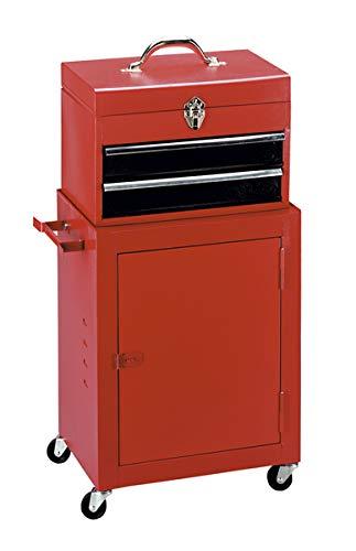 Werkzeug-Rollschrank mit abnehmbarem Schubladen-Werkzeugkoffer