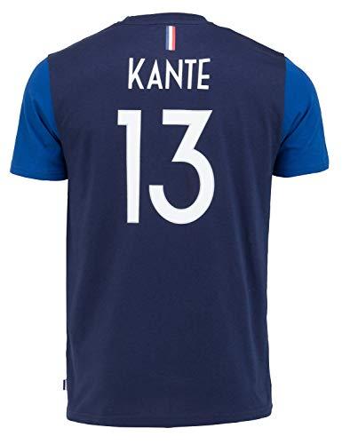 Equipe de FRANCE de football T-Shirt FFF - N'Golo KANTE - Collection Officielle Taille Enfant garçon 8 Ans