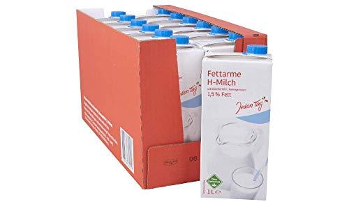 Jeden Tag haltbare Milch 1,5% 12x 1 Liter Gebinde mit Jelly Beans Gratis