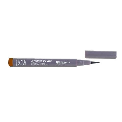 EYE CARE Eyeliner Filzstift Farbe: braun, 1er Pack (1 x 1 Stück)
