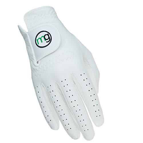 MG Golf Glove Mens Right (LH Golfer) DynaGrip All-Cabretta Leather (Medium...