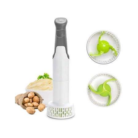 Handheld Potato Ricer Fruit & Vegetable Masher Jaxbo Stainless ...