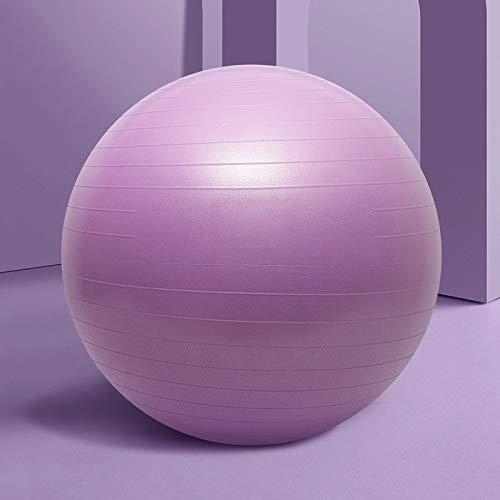 A prueba de explosiones engrosada Yoga de la bola Pelota de ejercicio, 55cm 65cm 75cm bola de yoga, profesional anti-explosión bola engrosamiento Balance for la terapia de Pilates Parto terapia física