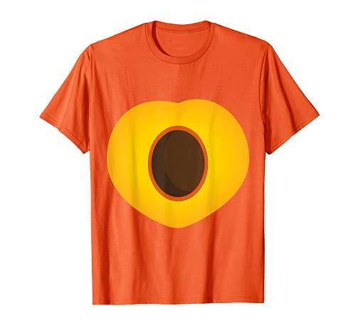 Disfraz de melocotn para carnaval, fruta, disfraz Camiseta