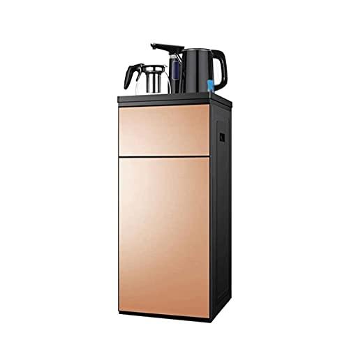 KJLY Hervidor eléctrico, dispensador de agua hirviendo multifunción, protección contra hervidos, estufa de café de té de oficina en el hogar, grifo giratorio de 270 ° (Color : Gold)
