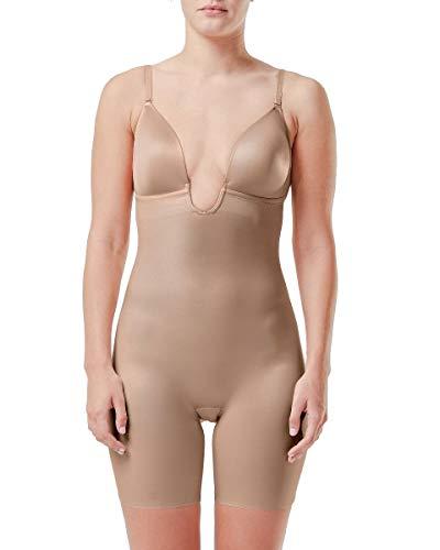 Spanx 10157R-CHAMPAG M Body, Beige (Champag Ne Beige Champag Ne Beige), 38 (Tamaño del Fabricante:M) Donna