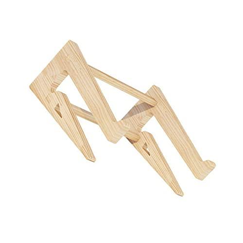 ibasenice Durable Bequem Nützlich Einfache Praktische Laptop Ständer Holz Laptop Rack für Hause