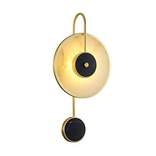 Apliques de pared Botón de mármol Lámpara de pared Tipo de la lámpara de pared for el dormitorio Sala de estar Balcón Corredor Comedor Estudio