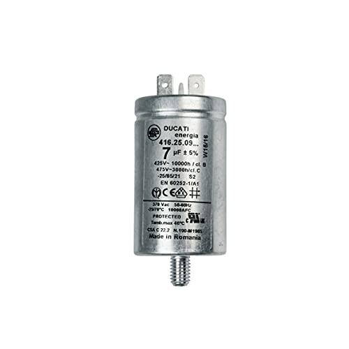 Condensateur 7MF (269386-25294) Sèche-linge 41039164, 482000079431 CANDY