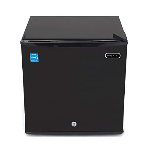 Whynter CUF-110B Energy Star 1.1 Cubic Feet Upright Lock, Black Freezer, cu ft