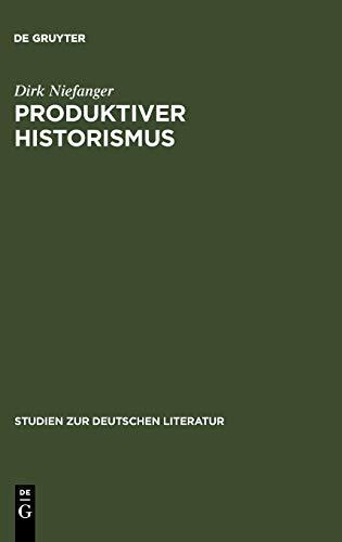 Produktiver Historismus: Raum und Landschaft in der Wiener Moderne (Studien zur deutschen Literatur, 128, Band 128)