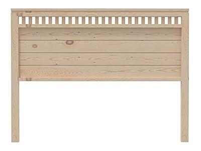 materiales: madera maciza de pino insigni. medidas: 145x120x3 (ancho,alto,fondo) acabado: crudo sin pintar.