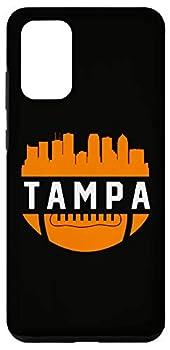 Galaxy S20+ Vintage Downtown Tampa Bay FL Skyline Football Case