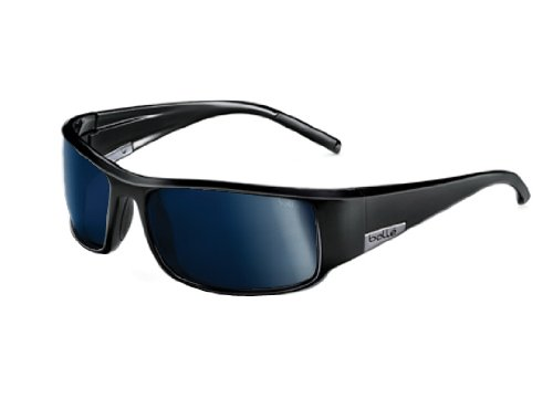 Bollé Sonnenbrille King, Black Shiny, L