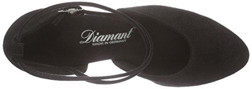 Diamant 058-068-001 Damen Tanzschuhe Standard & Latein, (Schwarz), 39 1/3 EU - 5