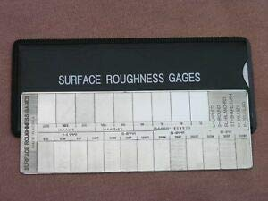 Getitsupplies Surface Roughness Comparator Gage