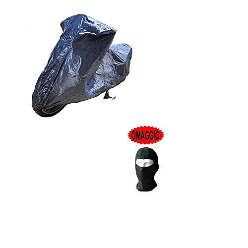 COMPATIBILE CON KYMCO DOWNTOWN 125i TELO COPRIMOTO COPRISCOOTER IMPERMEABILE COVER IN NYLON UNIVERSALE PER SCOOTER MOTO MAXISCOOTER TAGLIA XL 246X105X127CM COPERTURA ANTIPIOGGIA
