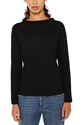 ESPRIT Damen 119EE1J005 Pullover, Schwarz (Black 001), Small (Herstellergröße: S)