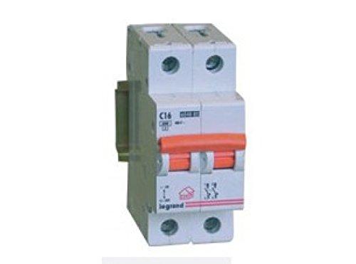 Legrand magnet./dif.vivienda - Magnetotermico vivienda rx3 1 polo+neutro 6ka 16a