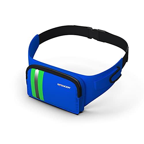 Spencer Blue Bag 1 – Riñonera de primeros auxilios, sanitaria, profesional 4 L, alta visibilidad, emergencia médica, se puede llevar también al hombro, médico/paramédico/sucurridor