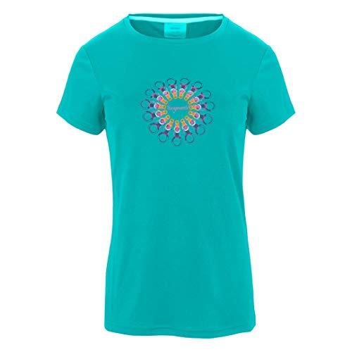 Trangoworld Orles T-Shirt Femme, Multicolore-Bleu (Azul isla), XL
