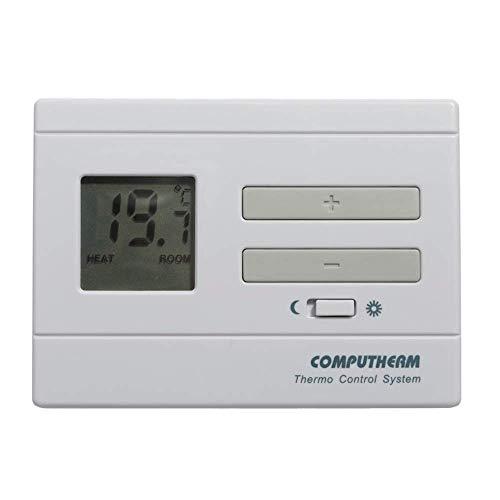 COMPUTHERM Q3 digitaler Raumthermostat, Wand-Thermostat mit Thermometer für Heizung, Klimaanlagen & Fußbodenheizung, Raum-Temperaturregler & -messer