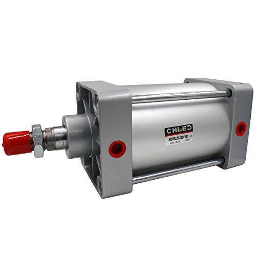 Heschen Pneumatische Standaard Cilinder SC 125-100 PT1/2 Poort 125 mm (5