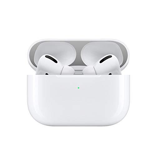 LICHIFIT Interne Metalen Stofbescherming Beschermende Film Sticker voor Apple AirPods Pro Bluetooth Oortelefoon Case Shell Huid, ZILVER