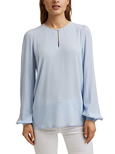 ESPRIT Fein strukturierte Bluse aus LENZING™ ECOVERO™