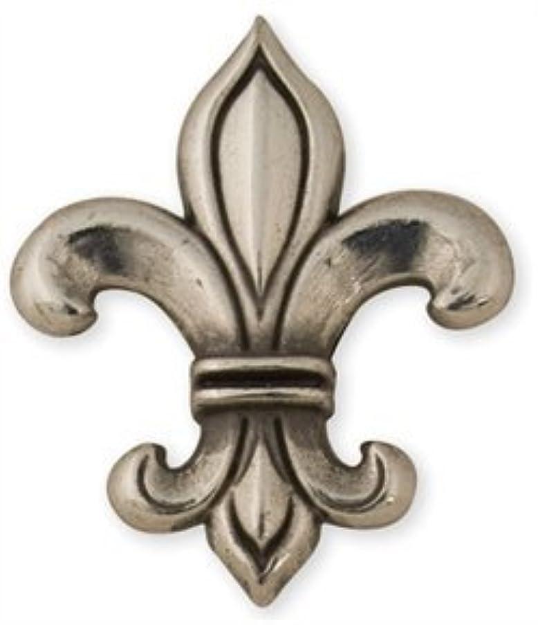 Tandy Leather Fleur De Lis Screwback Concho 7427-05