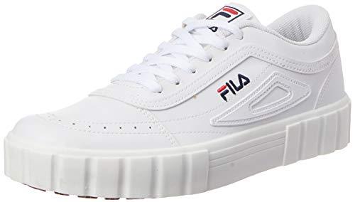 Tênis Fila Classic Court, Masculino, Branco/Marinho/Vermelho, 41