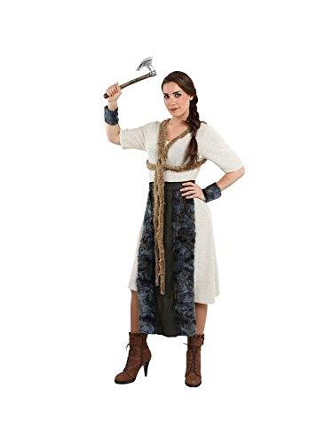 DISBACANAL Disfraz de vikinga Mujer - Único, M
