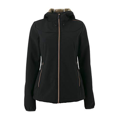 Brunotti Softshelljacke NAOS W1819 Women Softshell Jacket SCHWARZ (M)