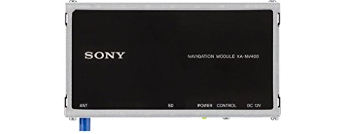 Sony XANV400 Modulo di Navigazione Portatile TomTom per XAV-AX100, XAV-W650BT, XAV-V630BT, Mappatura Europa Est ed Ovest, Antenna GPS e SD Card per le Mappe Incluse, Nero