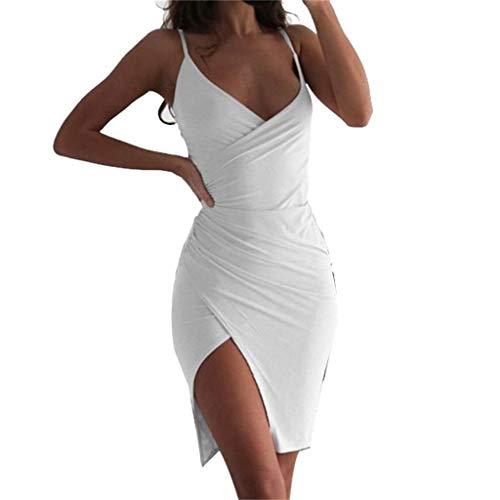 Yanhoo-Dress Zweiteiler Rock Und Top Sommer Geschenke Frau Kleid Party Leopard Minirock Stepprock Damen WeißEs Kleid Abendkleid GroßE GrößEn