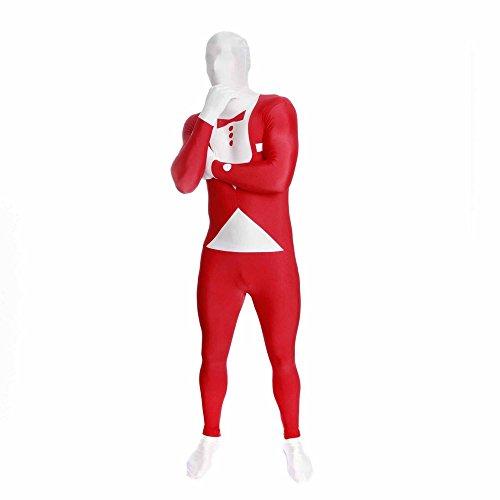 Morphsuits Costume Tuxedo, XXL, Rouge