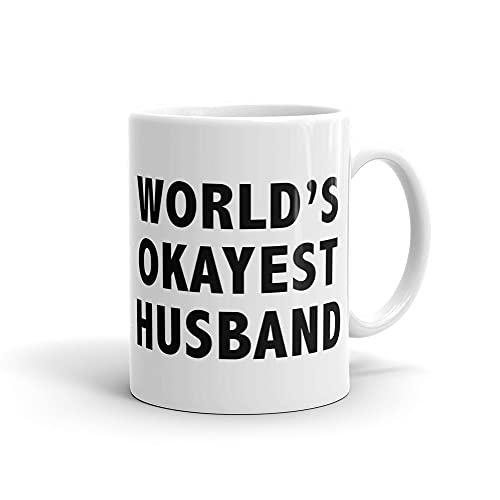 """Tazza per marito con marito e scritta in lingua inglese """"Wifey"""", idea regalo per la festa nuziale, regalo per la sposa, addio al nubilato, scritta in inglese """"Mr. Groom to be Newly Weds"""" #a365"""
