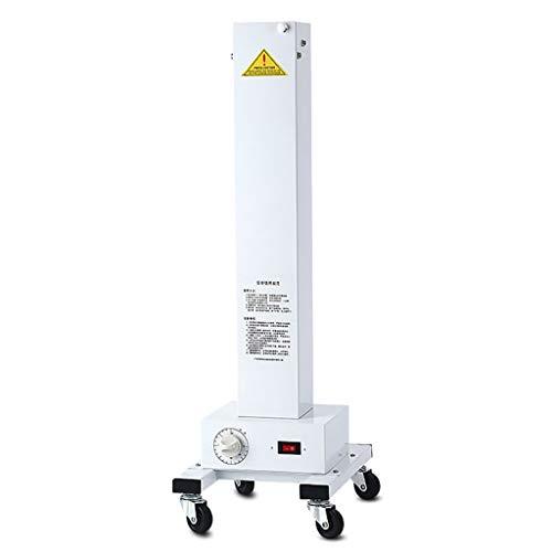 Lampe de désinfection UV Hôpital mobile clinique véhicule de désinfection Maison de la maternelle usine Lampe UV Le repas de bébé ( Color : Blanc , Size : 28*31*115CM/11*12*45inch )