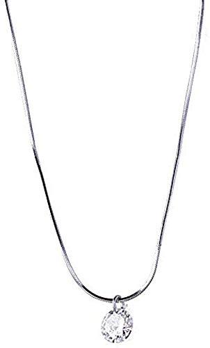 WYDSFWL Collar Mujer Colgante Llavero Collar Collar