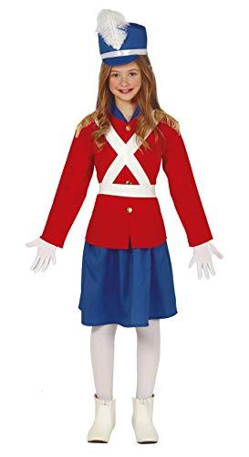 FIESTAS GUIRCA Disfraz soldadita de Plomo niña Talla 5-6 años