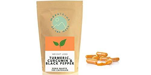 Turmeric, Curcumin (5%) & Black Pepper | Digestive Aid