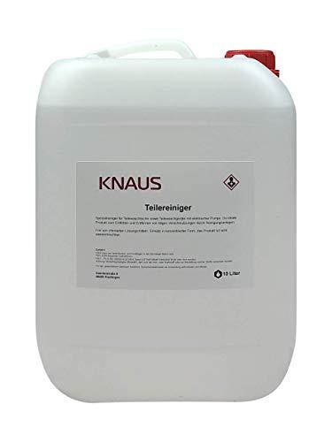 Knaus Schmierstoffe Teilereiniger für Waschtische | Reiniger für Teilewaschgeräte | geeignet für elektrische Pumpen | Entfetter | Maschinenreiniger
