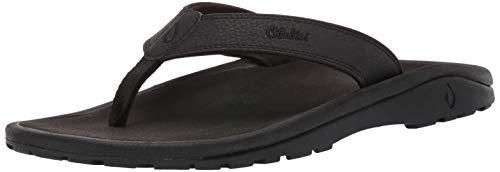 OluKai Ohana Men's Beach Sandals, Quick-Dry Flip-Flop Slides, Water Resistant & Lightweight, Compression Molded Footbed & Ultra-Soft Comfort Fit
