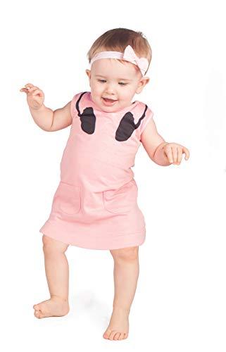 Baby Moo's - Robe - Bébé (fille) 0 à 24 mois pêche 0-6 mois